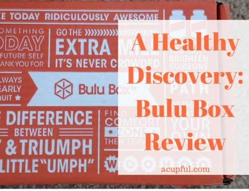 A Healthy Discovery: Bulu Box Review