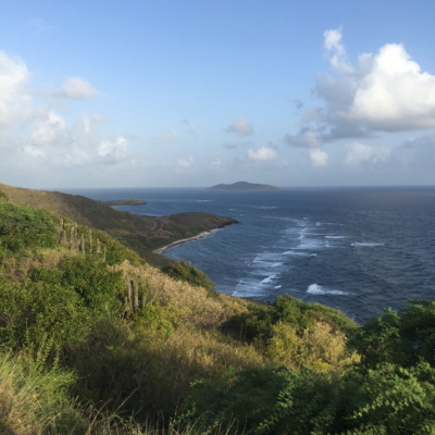 Point Udall sunrise St Croix - a cupful of carters- mandy carter