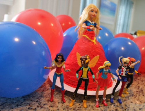 How to create a Supergirl doll cake or ANY character cake
