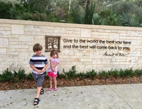 Tips for exploring Bok Tower Gardens with kids
