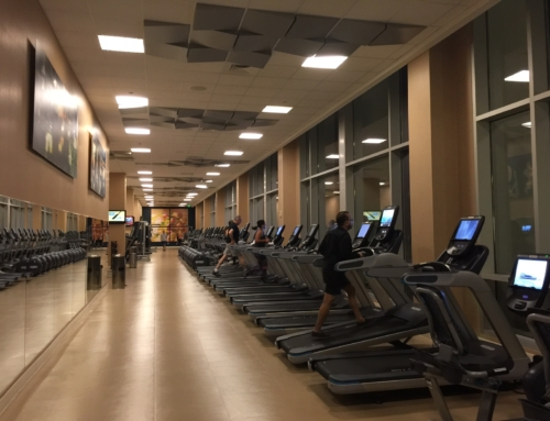 Staying fit at Hilton Orlando