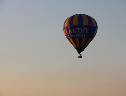 A bucket list experience checked off thanks to Orlando Balloon Ride