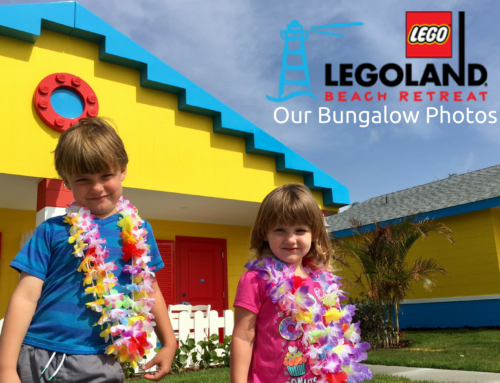 Our family photos at the NEW LEGOLAND Florida Beach Retreat bungalows