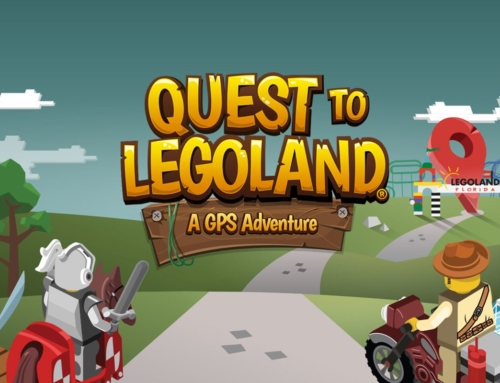 Using the Quest To LEGOLAND GPS App for road trip fun