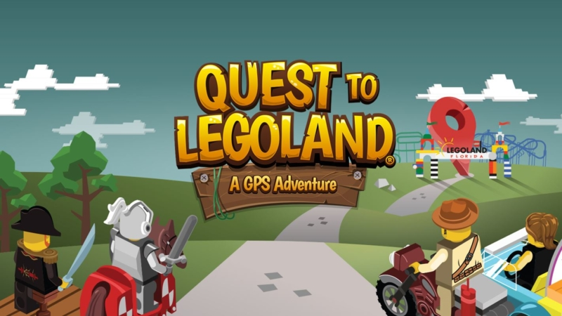 Quest to LEGOLAND app for GPS | tips for using Quest to Legoland Orlando | acupful.com | Mandy Carter | family travel blog | kids app | travel apps | Legoland Orlando tips