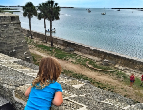Take the kids back in time with a trip to St. Augustine Florida