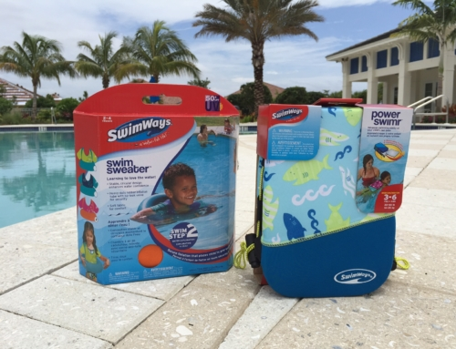 Swim safety with SwimWays in the early years