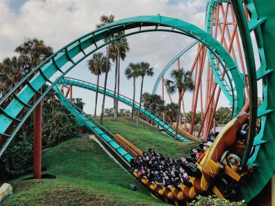 Florida roller coaster fun | Florida travel